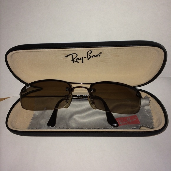3a0c7294b Ray Ban 3174 Sunglasses Brown Rectangular Lens. M_5b9ed263a5d7c6bd48f71875.  Other Accessories ...